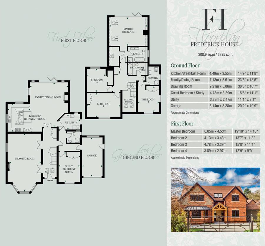 Fredrick House Floorplans Lukmore Monogram